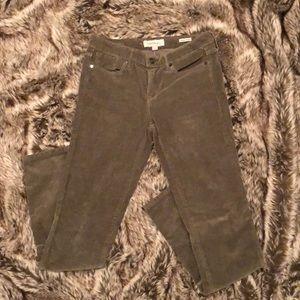 Calvin Klein Green Corduroy Pants